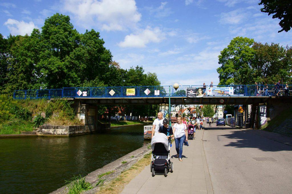 Most kolejowy na Kanale Łuczańskim