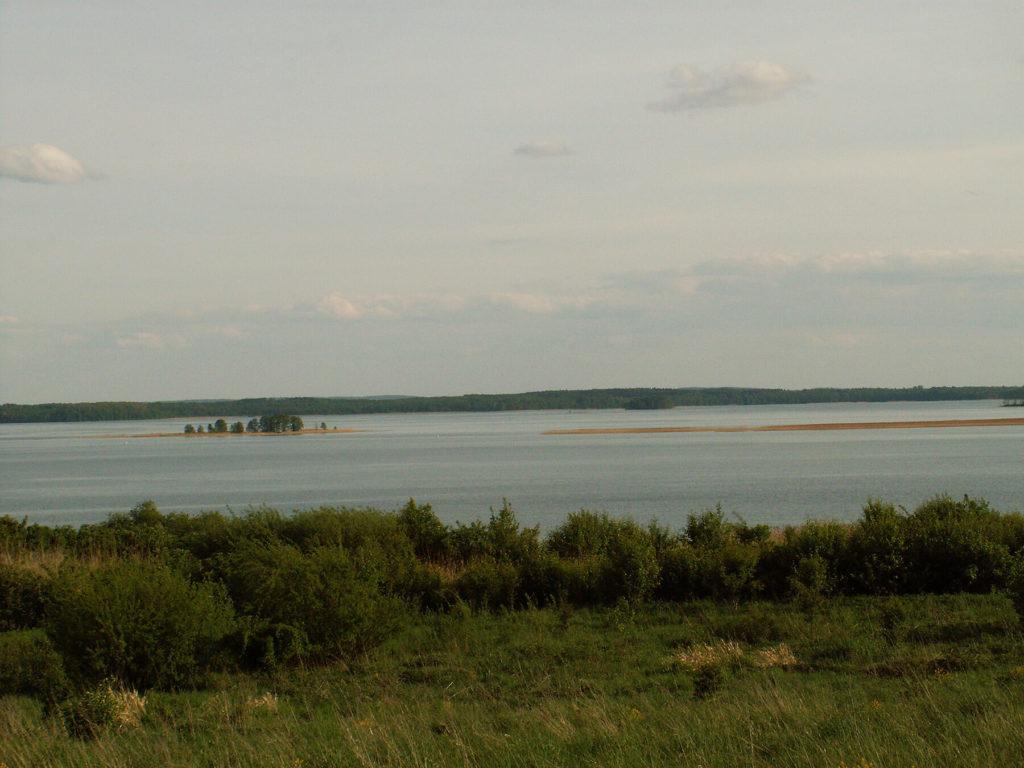 Zatoka Łabap i Jezioro Dobskie