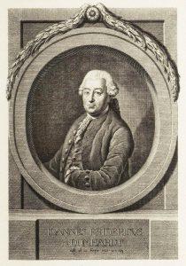 Królewski nadprezydent Prus Friedrich von Domhardt w latach 1765-1772 przeprowadził budowę kanałów na Wielkich Jeziorach Mazurskich (źródło: Wikimedia Commons)