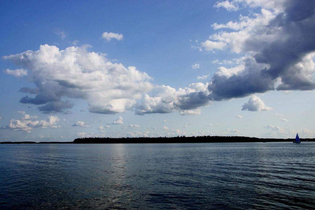 Wyspa Upałty na horyzoncie