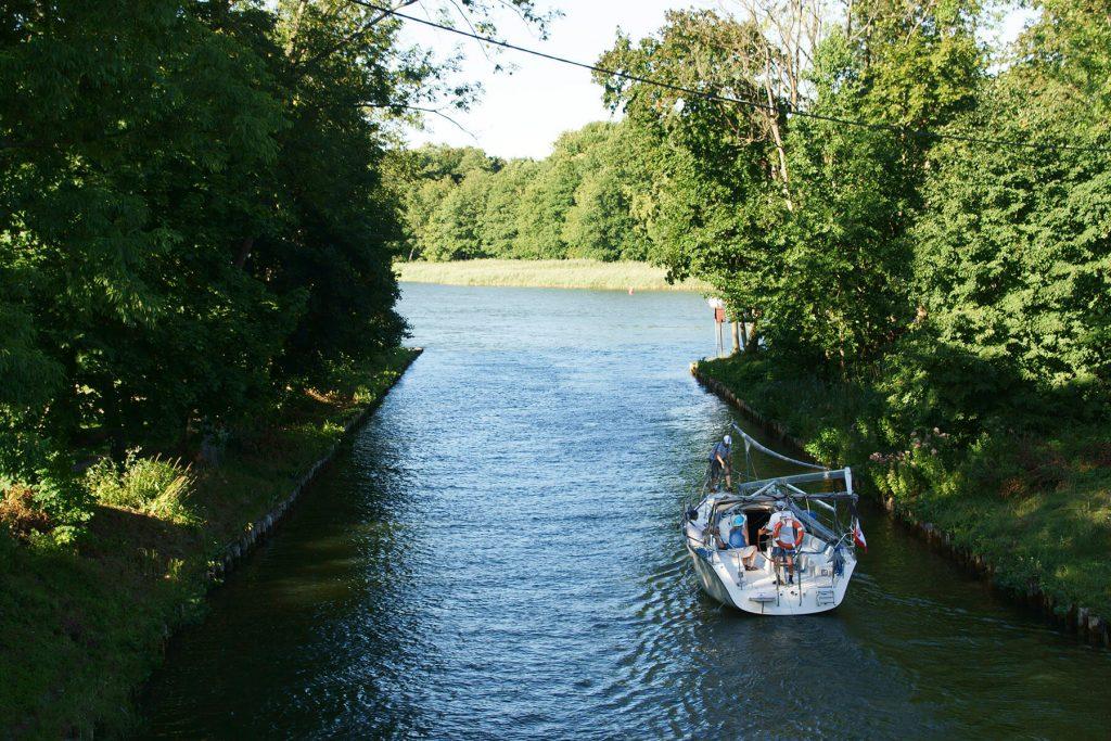 Na kanale Piękna Góra