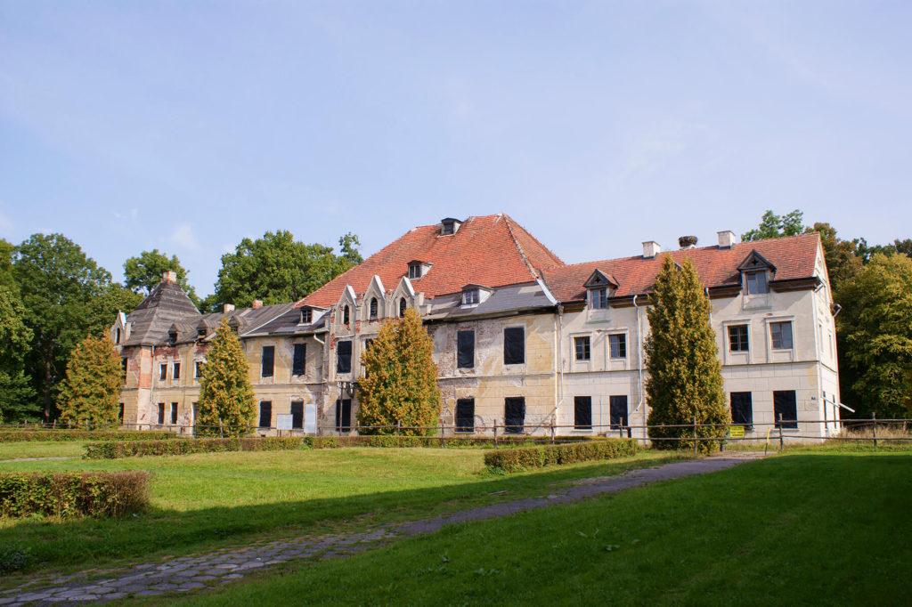 Pałac w Sztynorcie – stan z 2013 r.