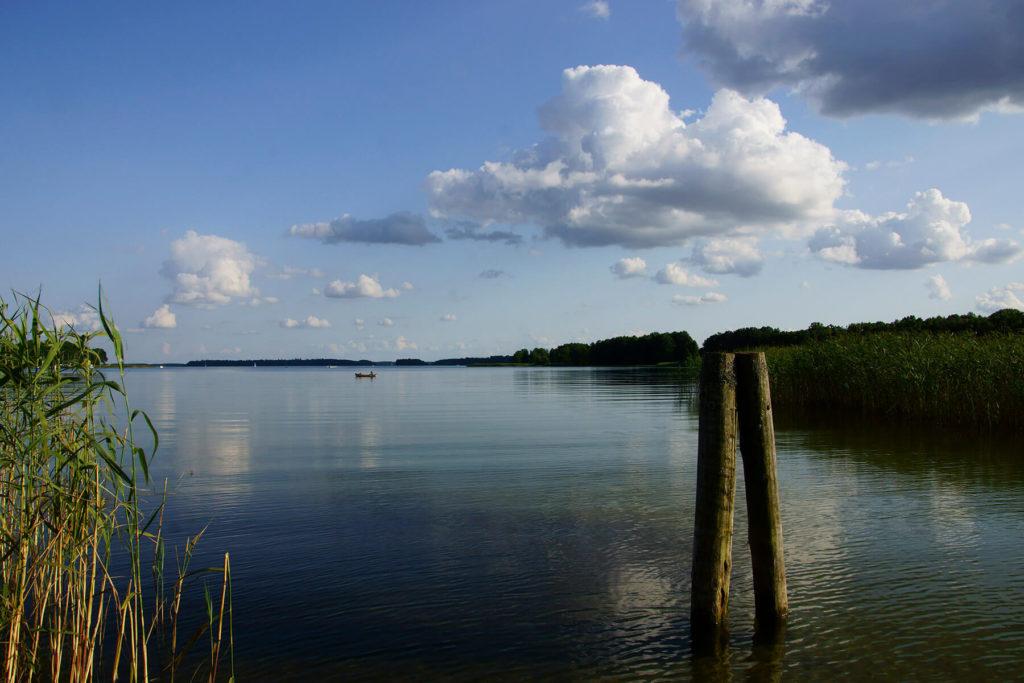 Północny kraniec Mamr i Wielkich Jezior Mazurskich