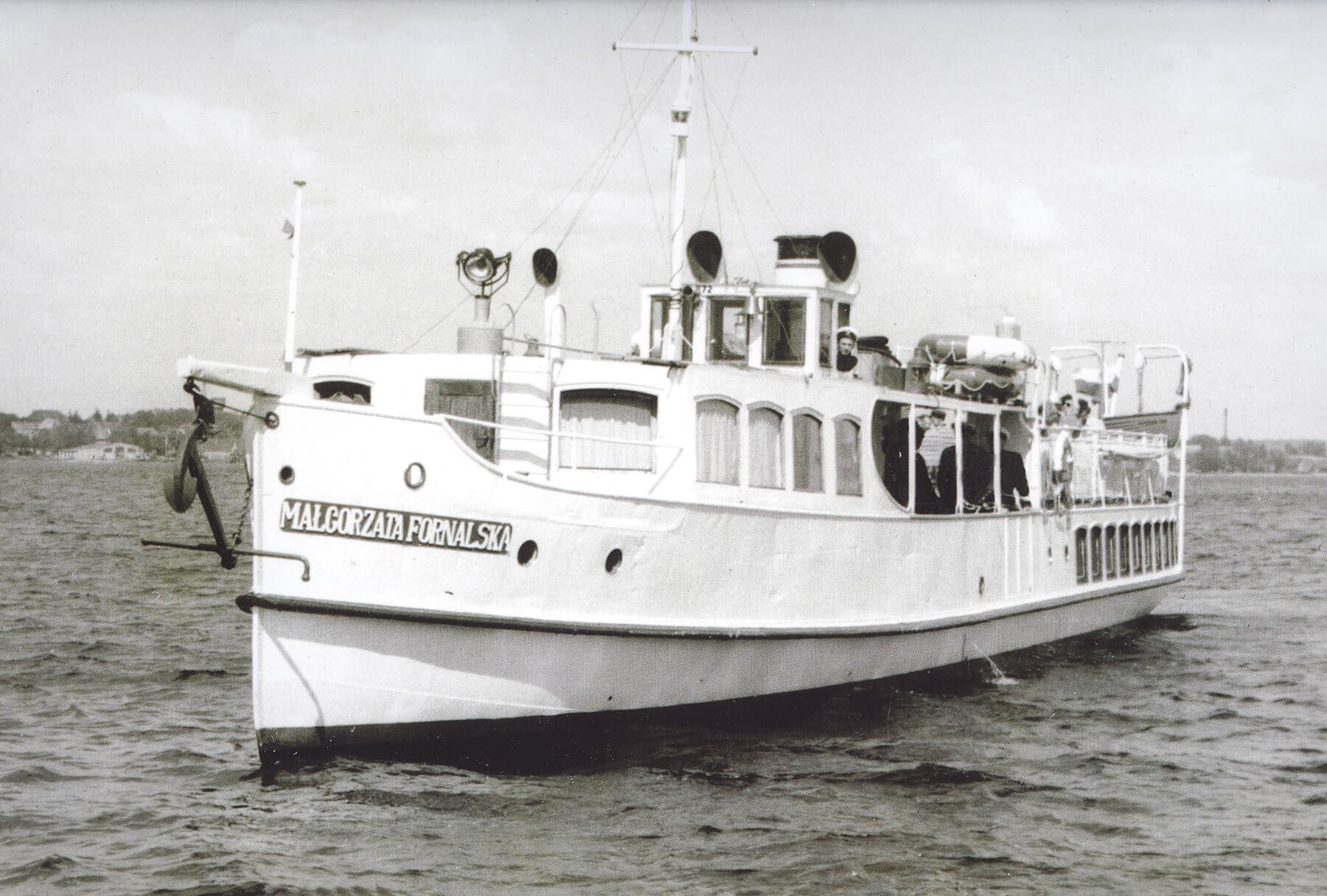"""Statek """"Małgorzata Fornalska"""""""