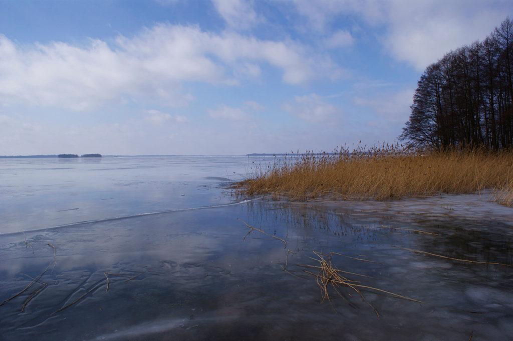 Pierwszy lód na Darginie