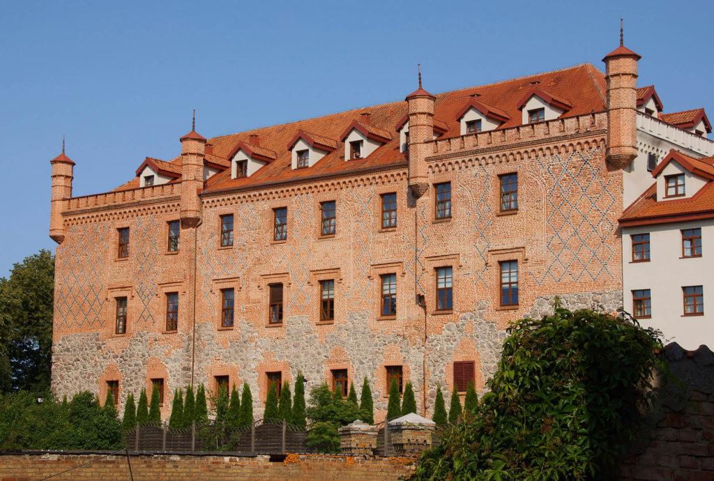 Zamek krzyżacki w Rynie