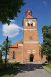 Kościół w centrum Węgorzewa