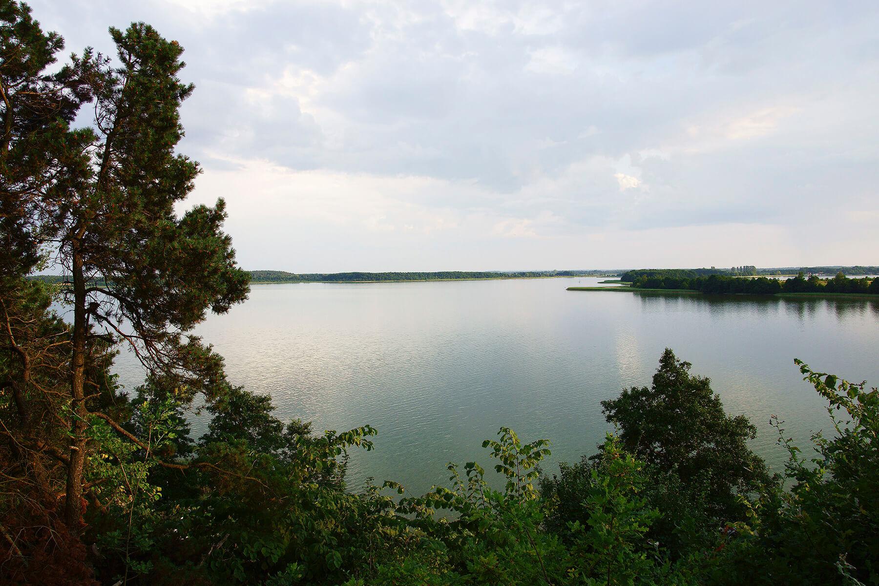 Panorama Jeziora Święcajty
