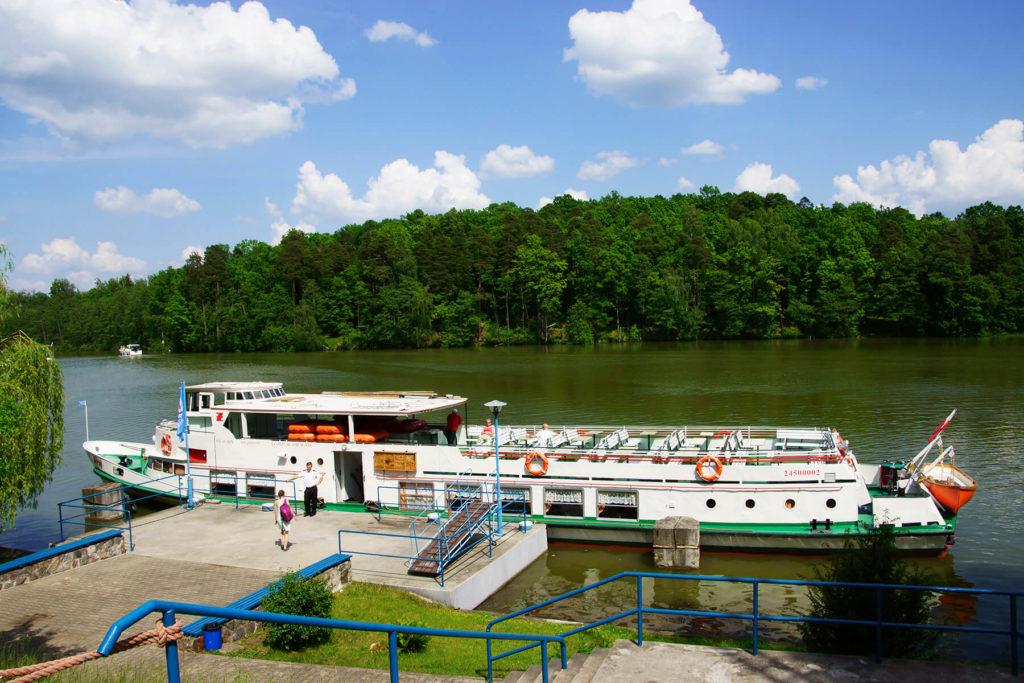 Port Żeglugi Mazurskiej w Rucianem-Nidzie