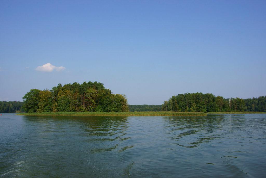 Wyspy na Jeziorze Nidzkim