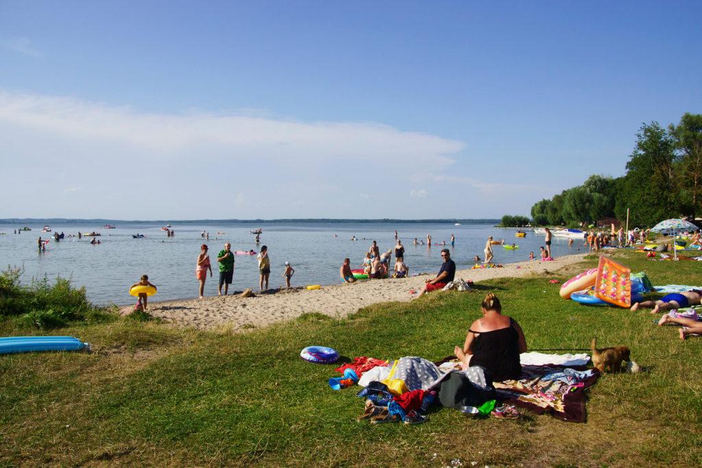 Plaża w Nowych Gutach