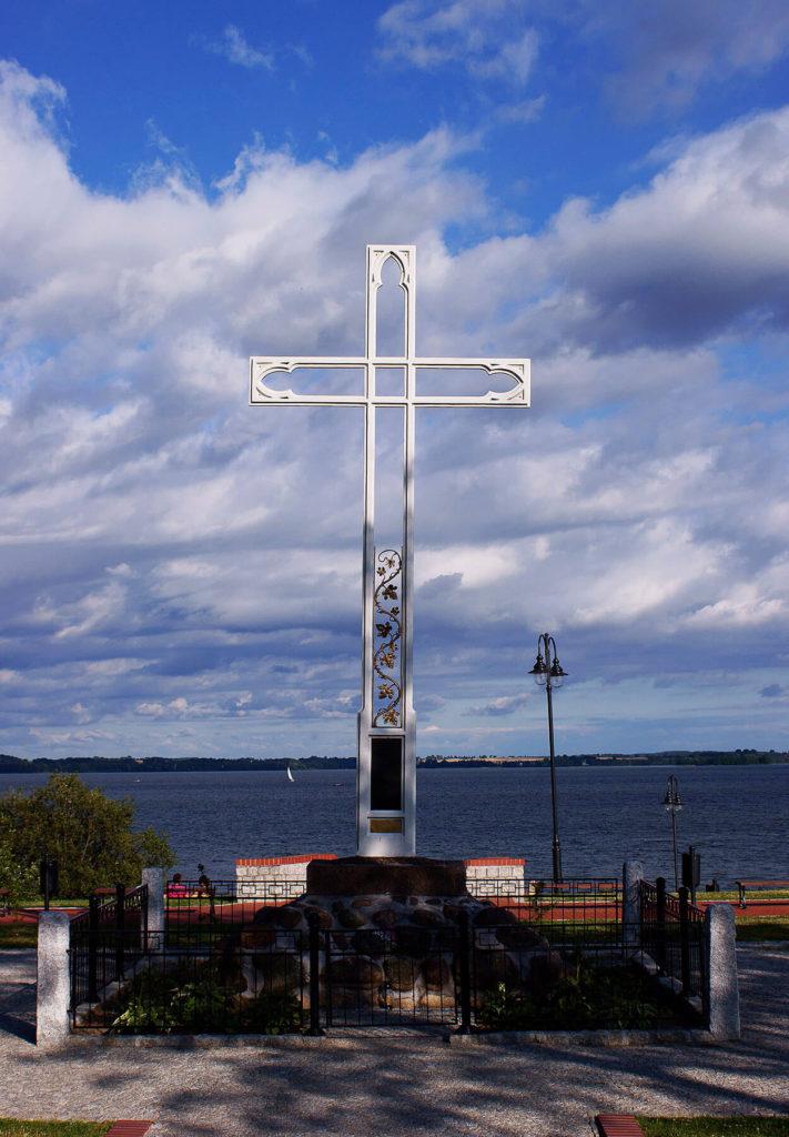 Krzyż św. Brunona nad Niegocinem