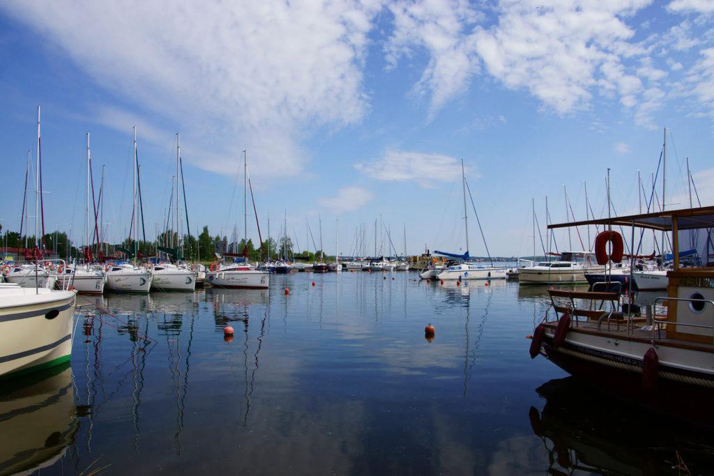 Port jachtowy w Wilkasach