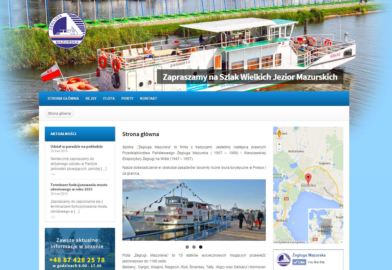 Rejsy statkami żeglugi mazurskiej