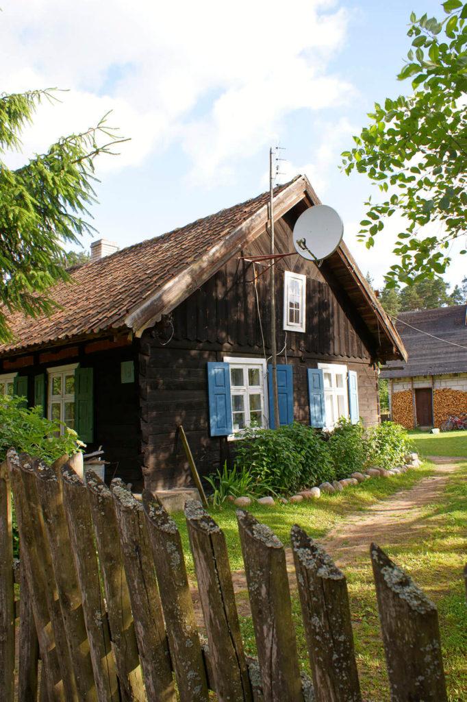 Tradycyjna chata mazurska