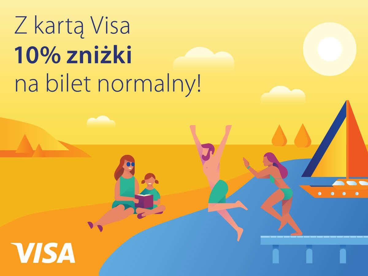 Żniżka z kartą VISA