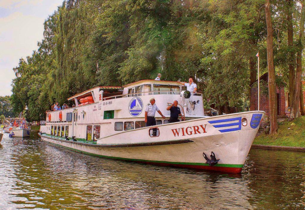 Statek Wigry